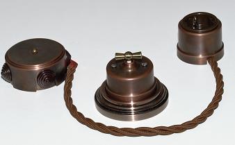 Ретро кабель для наружной проводки