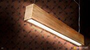 линейный светодиодный светильник фото