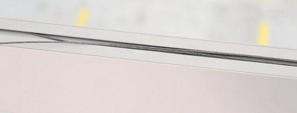 монтаж линейного светодиодного светильника фото