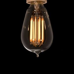 led filament mini edison bulb фото